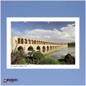 Si-O-Se Pol Bridge postcard