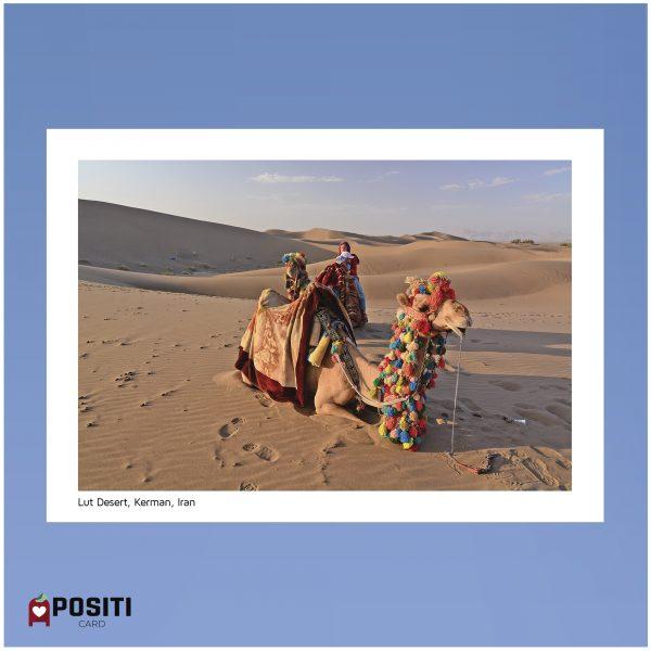 Lut Desert postcard