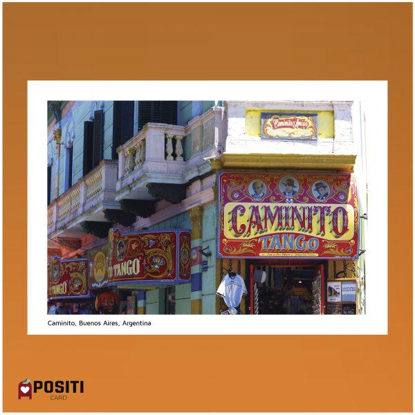 Argentina Caminito postcard