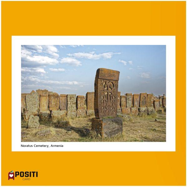 Armenia Noratus Cemetery postcard