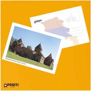 Armenia Goshavank Monastery Complex postcard