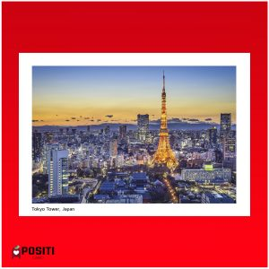Tokyo Tower postcard