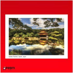 Kyoto Kinkaku-ji postcard