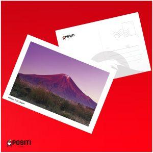 Mount Fuji postcard
