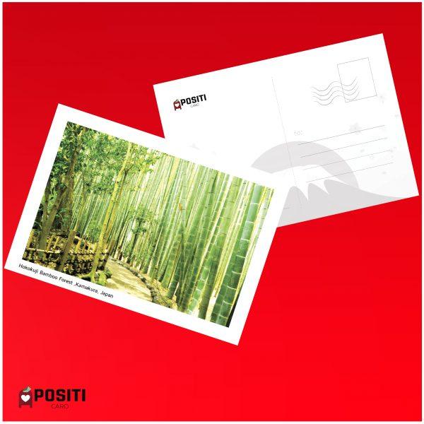 Hokokuji Bamboo Forest postcard