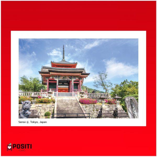 Tokyo Sensō-ji postcard