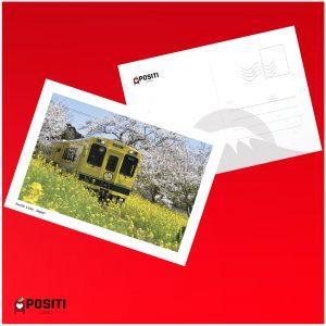 Japan Isumi Line postcard