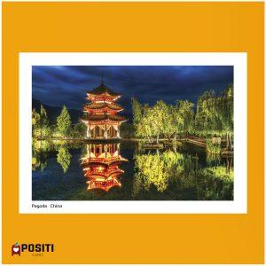 Chinese Pagoda postcard