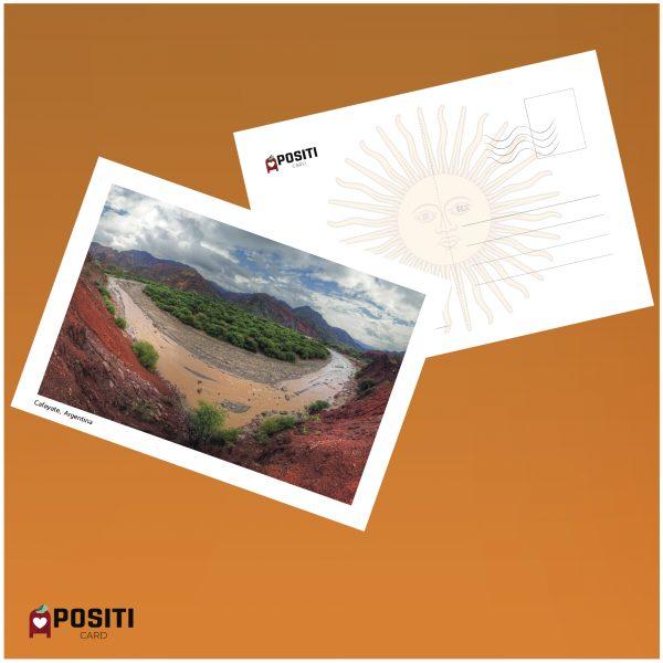Argentina Cafayate postcard