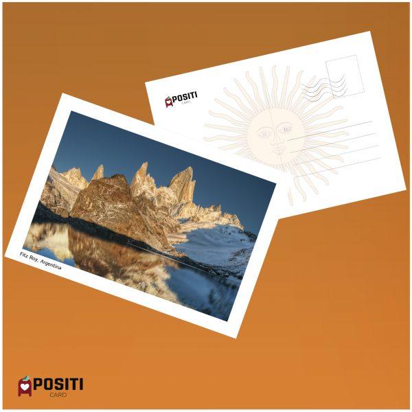 Argentina Fitz Roy postcard