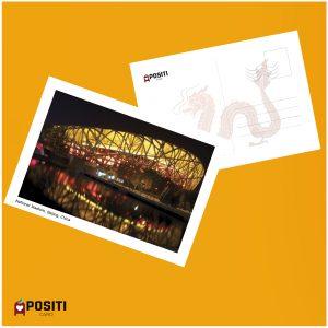 China National Stadium postcard
