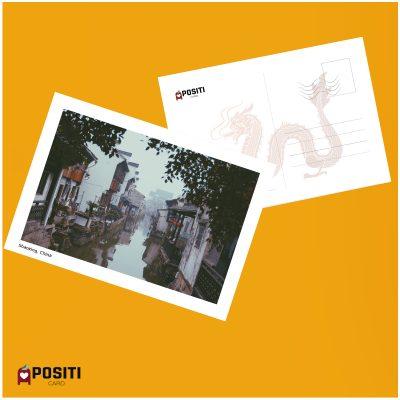 China Shaoxing postcard