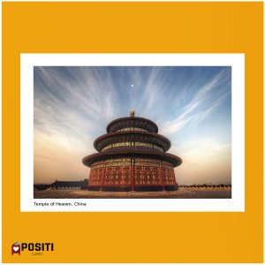 Temple Of Heaven Beijing Cultural Elements Banana Postcard Set Thanks Card Mailing Side 20pcs